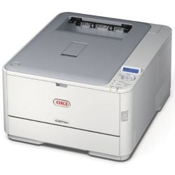 Oki OKIC301DN Digital Colour Printer 20ppm Full Colour 22ppm Mono Automatic Duplex with built-in 10/100 Ethernet Network Card ProQ2400 Multi-level