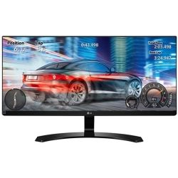 LG 29UM68-P BLK 29 inch AH-IPS LED Monitor - 2560x1080, 21:9, 5ms, sRGB99%, Speakers, FreeSync, Gaming, VESA Computer Components