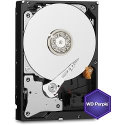 WD Purple Internal 3.5 inch Desktop SATA Drive, 4TB, 6GB/S, IntelliPower, 3yr Wty