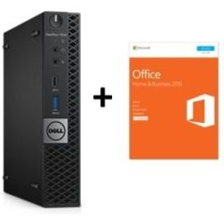 Dell Optiplex 7050 Micro Desktop PC - i7-7700T, 8GB RAM, 256GB SSD, Keyboard/Mouse, Win10 Pro BONUS Office Home & Business 2016 Retail Box Computer Components