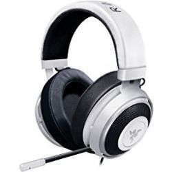 Razer Kraken Pro V2 - Analog Gaming Headset, White, Oval Ear Cushions, FRML Packaging