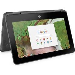 [2RA55PA] HP ChromeBook x360 11 G1 11 6 inch HD-Touch Plus DGZ 2-in-1  Laptop - Celeron N3350, 8GB RAM, 64GB SSD, Chrome64, 1yr Wty - Pen - Gray