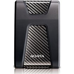 A-Data Durable HD650 2TB Portable Hard Drive HDD - Black Computer Components