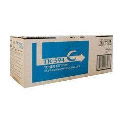 Kyocera 1T02KVCAS0 TK-594C Cyan Toner Kit (5K) GENUINE