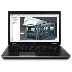 HP ZBook 17 inch Notebook Laptop i7-4800MQ 2.70GHz 24GB RAM 256GB SSD + 750GB HDD Quadro K31000M DVD-RW Win10 Pro 12 Mth Wty (Refurbished)