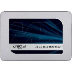 Crucial MX500 500GB 2.5 inch SATA SSD - 3D TLC 560/510 MB/s 90/95K IOPS 7mm w/9.5mm Adapter