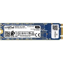 Crucial MX500 1TB M.2(2280) 3D NAND SATA SSD-Read up to 560MB/s, Write up to 510MB/s (Includes Acronis True Image HD Software+Mounting screw)