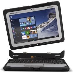 [CF-20C0195VA] Panasonic Toughbook CF-20 (10.1 inch Detachable) Mk1 with 256GB SSD, 8GB Ram