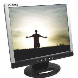 Optima L705AD 17 inch SXGA LCD Monitor - 1280x1024, 5:4, DVI, VGA, 12 Mth Wty (Refurbished) Computer Components