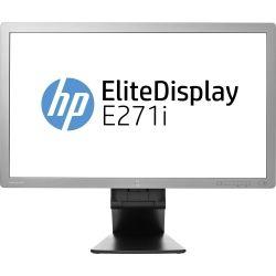 HP EliteDisplay E271i 27 inch FHD IPS LED Monitor - 1920x1080, 16:9, 5ms, DisplayPort, DVI, VGA, 12 Mth Wty (Refurbished)