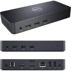 Dell D3100 Ultra HD 4K USB 3.0 Docking Station - 12 Mth Wty (Refurbished)