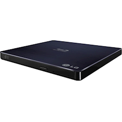 LG BP50NB40 8x Ultra Slim Portable External USB 3D Blu-ray Drive Player Burner Rewriter Super Multi Double-Layer BDRW DVD RW M-Disc Silent BDR-XS06T