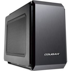 Cougar QBX Gaming Desktop PC - Intel Core i5 CPU, 8GB RAM, 500GB HDD, Win 10, Blue LED Fan, 12 Mth Wty Computer Components