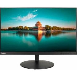 Lenovo ThinkVision T24i 23.8 inch FHD IPS LED LCD Monitor - 1920x1080, 16:9, 6ms, HDMI, DisplayPort, VGA, 3yr RTB Wty