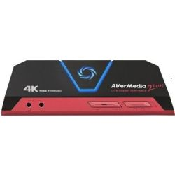 AVerMedia GC513 Live Gamer Portable 2 PLUS, Ultra HD 4K Pass Through Capture Device. Record 1080p @ 60 fps. 12 Months Warranty