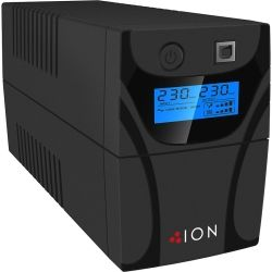 ION F11-650VA Line Interactive Tower UPS, 2x AU Outlets, RJ11 Phone Line Protection, USB, 3yr Warranty