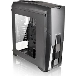 Thermaltake CA-3G2-60M1WA-00, Versa N25 Case with 600W 80Plus Power Supply, MBD Supported: Mini-ITX, Micro-ATX, ATX, Drive Bays: 1x 5.25 inch, 4x 3.5