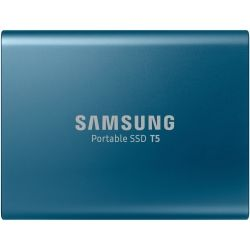 Samsung T5 500GB Portable SSD - USB3.1 (Gen2) Type-C, up to 10Gbps, Shock Resistant, 3yr Wty