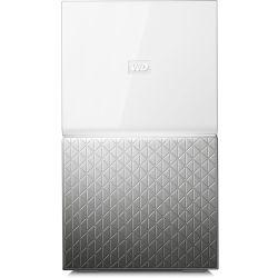 WD My Cloud Home Duo 16TB Dual-Drive Personal Cloud Storage (NAS) RAID1 Media Server File Sync PC/Mac Backup White