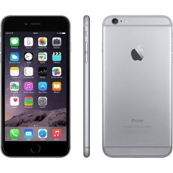 Apple iPhone 6 Plus Space Gray 64GB Excellent with Slightly Bent Case 6 Mth Wty (Refurbished)