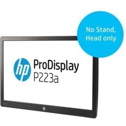 HP P223a 21.5 inch LED Monitor - 5ms, 16:9, 1920x1080, VGA + DisplayPort 1.2, 3yr Wty - HEAD Only - No Stand Computer Components