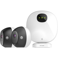 D-Link OMNA Wire-Free Indoor/Outdoor Camera Kit GET A BONUS Full HD Wi-Fi Camera