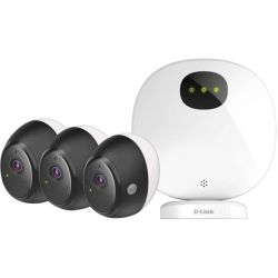 D-Link (DCS-2803KT) Omna Wire-Free Camera Kit 3-Pack