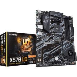 Gigabyte X570 UD Ryzen AM4 ATX Motherboard, 4x DDR4, 7x PCIe, 2x M.2 RAID GbE LAN CrossFire RGB, 6x USB2, 4x USB3.2
