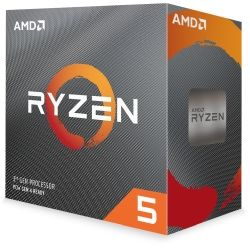 AMD Ryzen 5 3600, 6-Core/12 Threads Unlocked, Max Freq 4.20GHz, 36MB Cache Socket AM4 65W, with Wraith Stealth Cooler