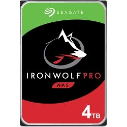 Seagate IronWolf NAS Pro 4TB Hard Disk Drive HDD - 3.5 inch, SATA, 7200rpm, 6Gb/s, 5yr Wty