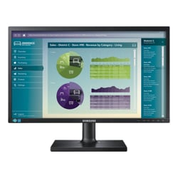 Samsung S22E450BW 22 inch LED Monitor - 1680x1050, 16:10, 5ms, DVI, VGA, 12 Mth Wty (Refurbished)
