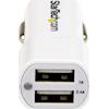 StarTech Accessories - StarTech Dual Port USB Car Charger 24W/4.8A | MegaBuy Computer Store Computer Parts