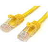 StarTech - StarTech 3m Yellow Snagless UTP Cat5e Patch Cable | MegaBuy Computer Store Computer Parts
