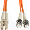 Other Network Cables - 4Cabling 2m LC-ST OM1 Multimode Fibre Optic Cable Orange | MegaBuy Computer Store Computer Parts