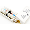 Other Networking Accessories - 4Cabling Cat 6 Inline Coupler Punch Down: White | MegaBuy Computer Store Computer Parts