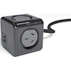 Generic UPS Accessories - PowerCube 4 Power Outlet and 2 USB Ports 1.5m. Black | MegaBuy Computer Store Computer Parts