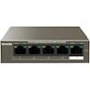 Gigabit Network Switches - Tenda TEG1105P-4-63W Basic switching RJ-45 Ethernet ports type: Gigabit | MegaBuy Computer Store Computer Parts