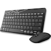 Wireless Keyboard & Mouse Combos - Rapoo 8000M Compact Wireless Multi-mode Bluetooth 2.4Ghz 3 Device Keyboard and Mouse Combo | MegaBuy Computer Parts