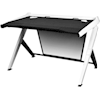 Toys & Gadgets - DXRacer 1000 Series Gaming Desk Black and White | MegaBuy Computer Parts