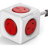 Allocacoc Powerboards - Allocacoc PowerCube Extended 5 Outlets 1.5M Red(0053) (LS) | MegaBuy Computer Store Computer Parts