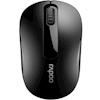 Wireless Desktop Mice - Rapoo M10 PLUS 2.4GHz Wireless Optical Mouse Black 1000dpi 3Keys   MegaBuy Computer Store Computer Parts
