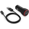 Phone & Tablet Car Chargers - Anker POWERDRIVE 2 + 1 MICRO-B 0.9M Cord USB Car Adapter Black | MegaBuy Computer Store Computer Parts
