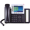 Grandstream VoIP Phones - Grandstream HD PoE IP Phone 480X272 Colour LCD 6 Lines Dual GBE 5 Program Keys | MegaBuy Computer Store Computer Parts