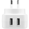 Home & Wall Chargers - 3Sixt Wall Charger AU 4.8A White | MegaBuy Computer Store Computer Parts