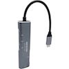 Docks & Port Replicators - Axceltek MT-UC2100R USB-C to HDMI/USB-A+C/reader 4K dock | MegaBuy Computer Store Computer Parts