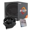 AMD - AMD Ryzen 5 3400G 4 Core AM4 CPU 3.7GHz 4MB 65W w/Wraith Stealth Cooler Fan RX | MegaBuy Computer Store Computer Parts