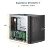Servers - Supermicro Mini Tower SuperServer 5029C-T Barebone Single E-2100 Socket 4 x3.5  | MegaBuy Computer Store Computer Parts