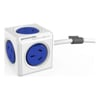Allocacoc UPS Accessories - Allocacoc POWERCUBE Extended 5 Outlets 3M     Blue (LS) | MegaBuy Computer Store Computer Parts