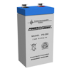 Power Sonic Batteries - Power Sonic AGM SLA Rechargeable battery 2 volt 6 ah | MegaBuy Computer Store Computer Parts