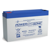 Power Sonic Batteries - Power Sonic AGM SLA Rechargeable battery 6 volt 12 ah | MegaBuy Computer Store Computer Parts